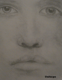pencil face- what- by unihope