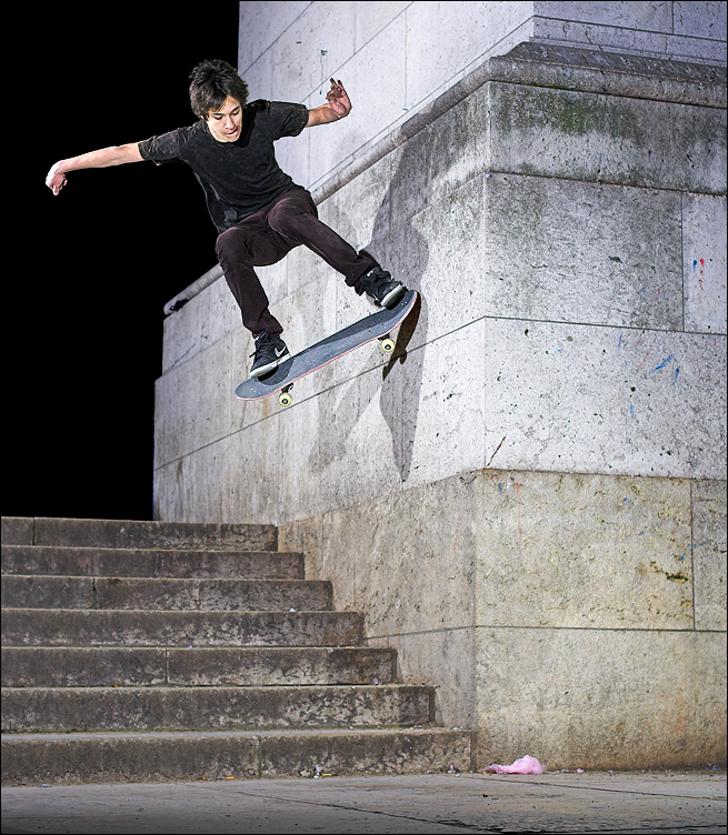 Thomas - Nosebonk Wallride? by SnoopDong