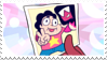 Garnet And Steven stamp by P0ddo