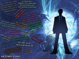 Artemis Fowl Quotes by Birchstar