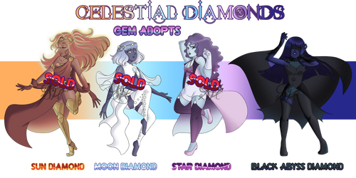 Celestial Diamond Adopts - (1/4 OPEN) by OriSODEhime