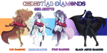 Celestial Diamond Adopts - (1/4 OPEN) by OriSODEhime
