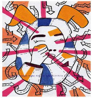 Lost in Her Mind - Ilustrasi Cerpen Pikiran Rakyat