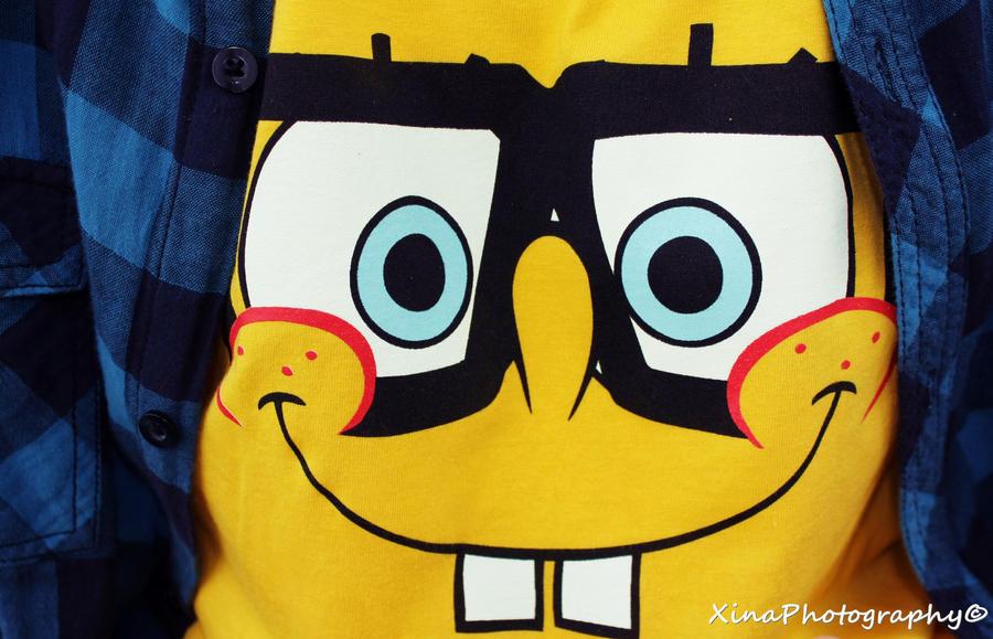 Spongebob Nerd By GiveMeEternalRest