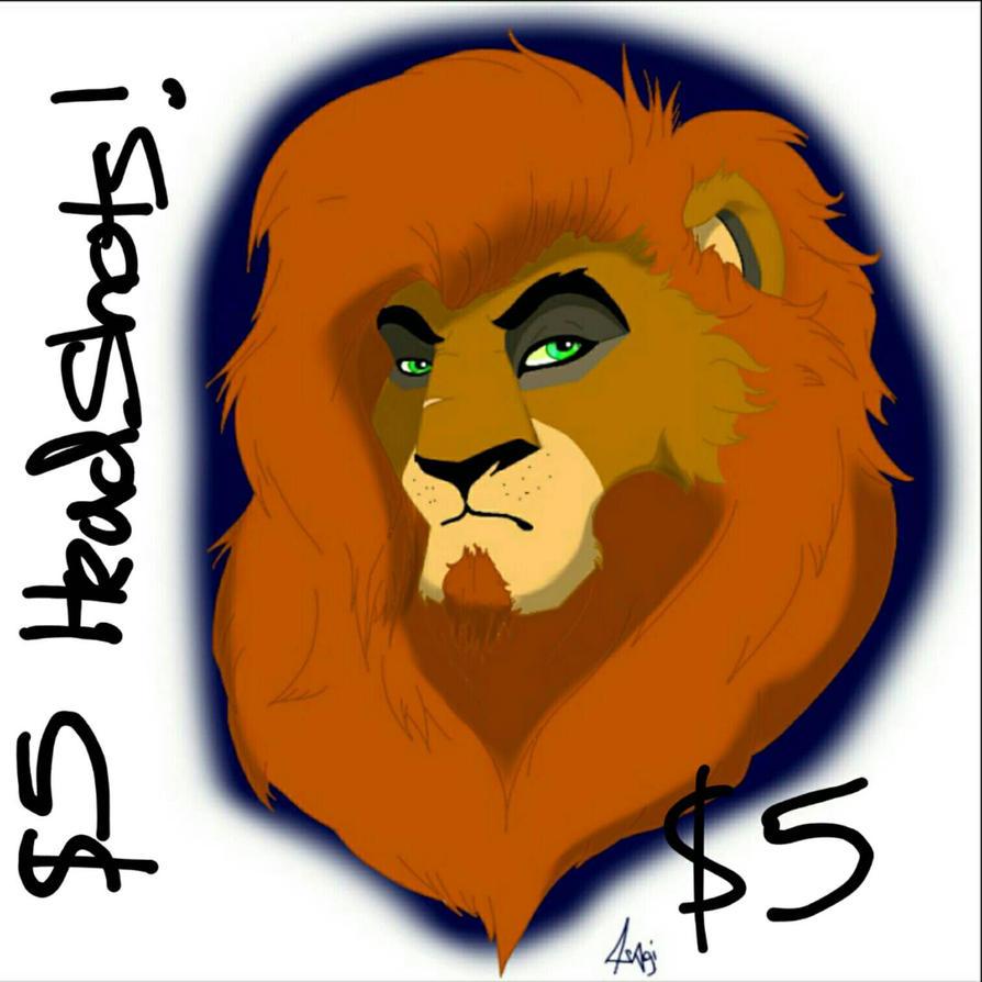 5 DOLLAR HEADSHOTS!! by R3ckless4You