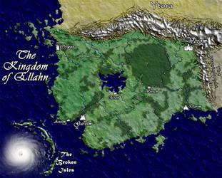 The Kingdom of Ellahn by shad-brooks
