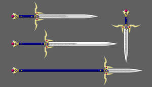 Regalium sword sizes