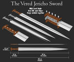 Vered Jericho Sword of Ancient Israel, 600BC STEEL