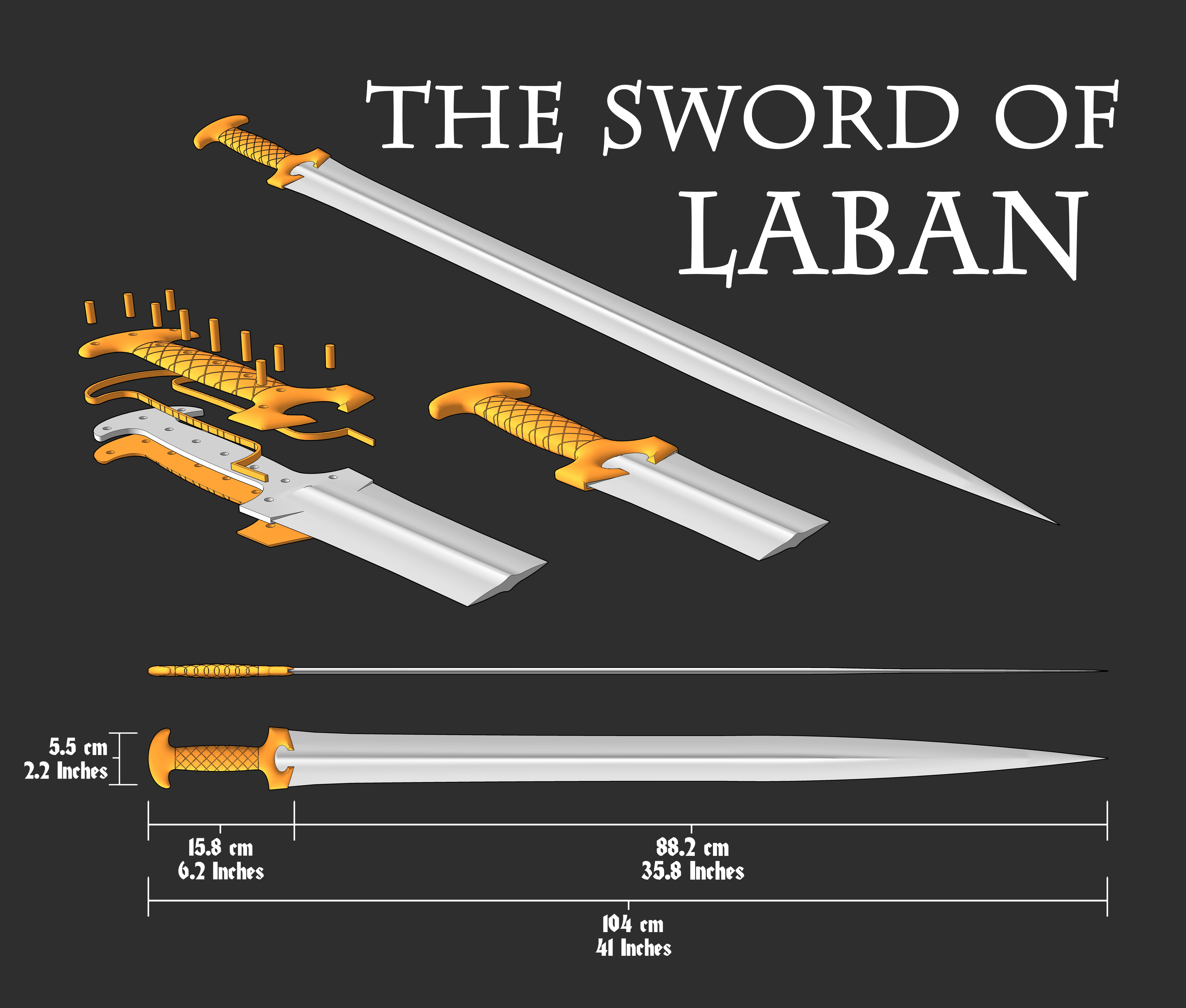 The Sword of Laban from the Book of Mormon