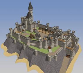 HONORGUARD, The castle of Morane, full scene