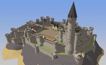 HONORGUARD, The Castle of Morane, reverse scene