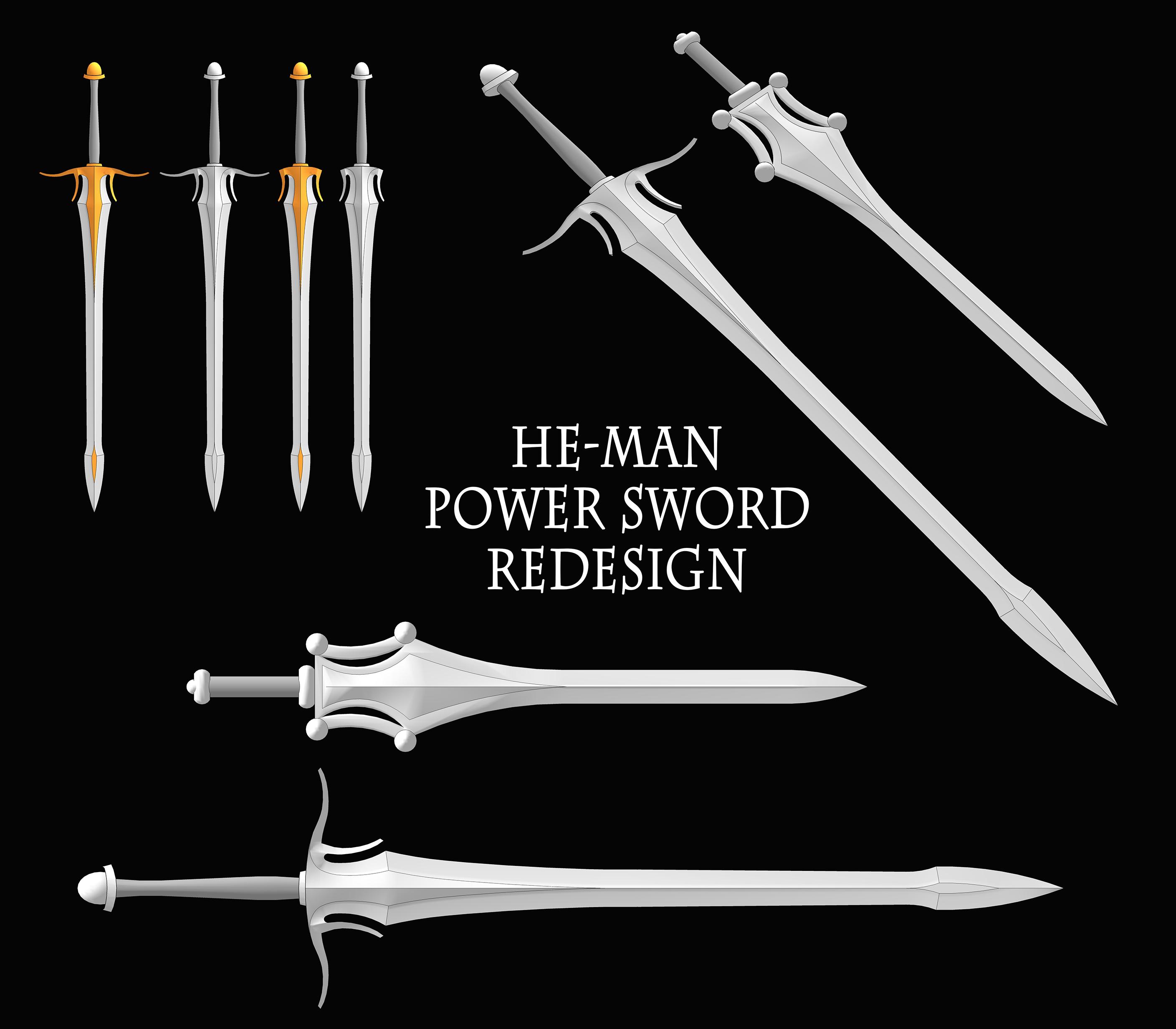 He man sword redesign