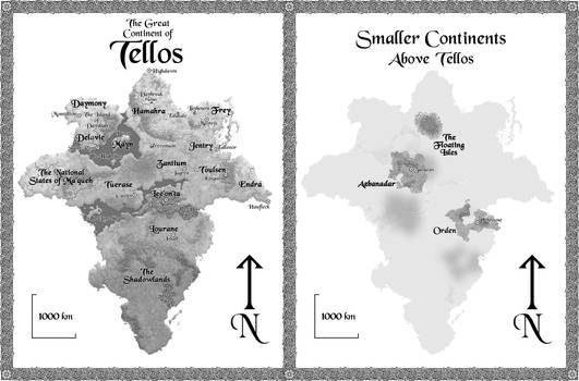 Tellos, full map, Shadow of the Conqueror