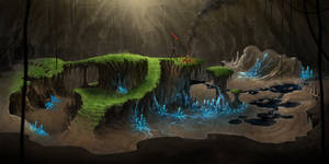 Cave Arena Map