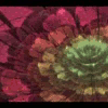 Fractal Flowers Avatar (Click to see) by Mynimi94
