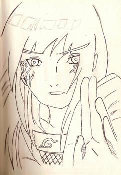 Sketch of Hinata