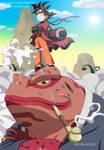Goku in Naruto by RMizukaze