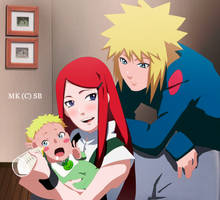 Uzumaki Family by RMizukaze