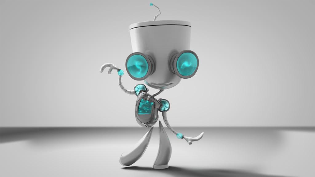3D Gir by dandeentremont on DeviantArt