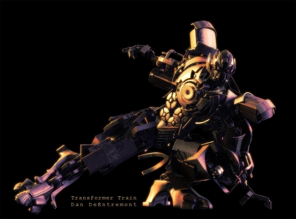 Transformer Train Slide by dandeentremont