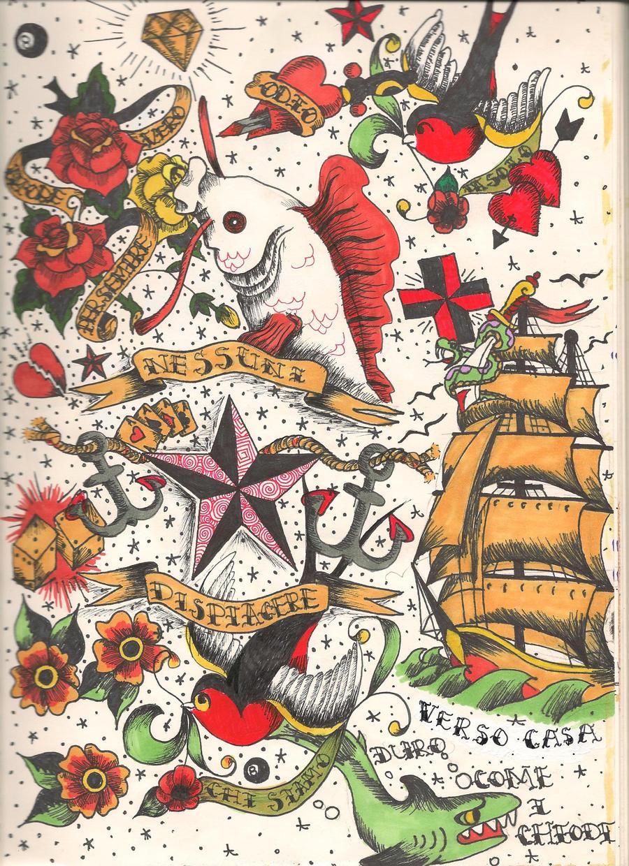 Sailor Jerry Tattoo Flash Wallpaper | www.pixshark.com ...