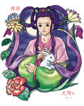 Chang Er the Moon Goddess