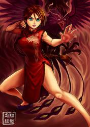 Voltsurge The Fist of fiery pheonix by ShinRyuShou