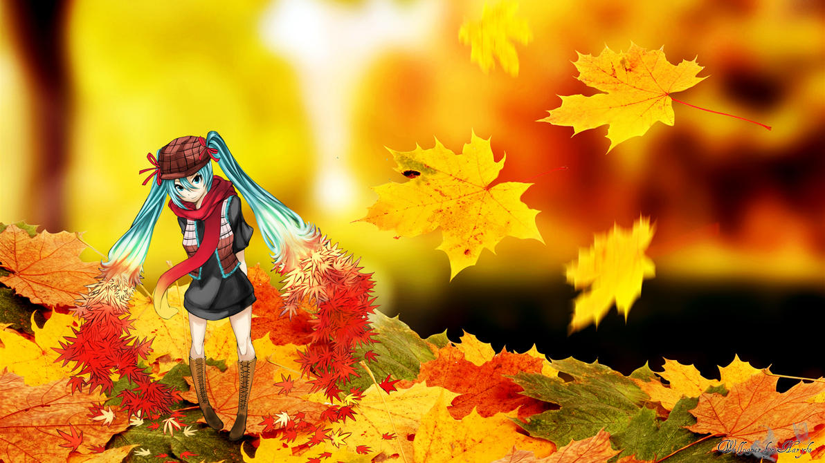 Miku autumn by Haryfa