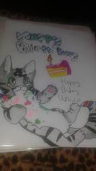 Happy birthday by My-Darkest-Days-fan