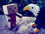 Danbo with Eagle
