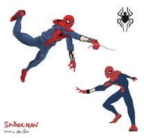 Spider-Man Redesign by climbguy