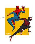 Spider-Men by climbguy