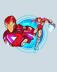 The Invincible Iron Man by climbguy
