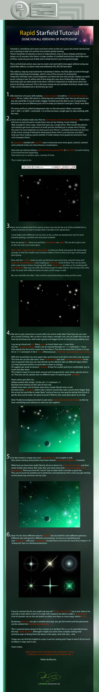 Starfield Tutorial -G-