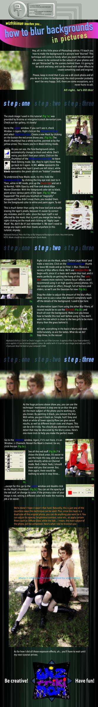 Blurred Background -T- by photoshop-tutorials
