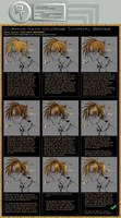 Part 7: Golden Brown -W- by photoshop-tutorials