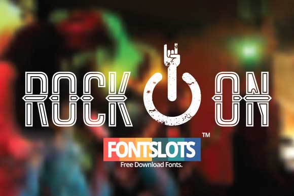 Rock On Font Download