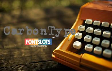 CarbonType Font
