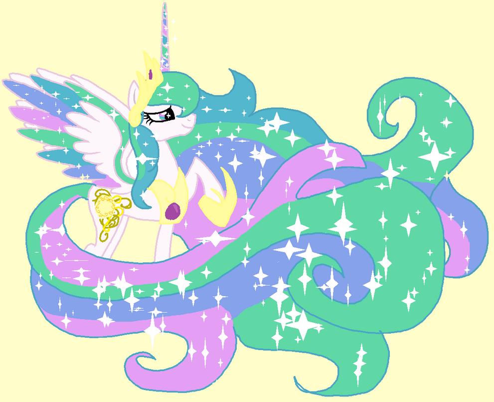 Princess Celestia My Style by moonfire-dovahkiin