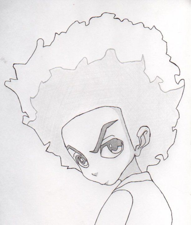 huey from the boondocks by