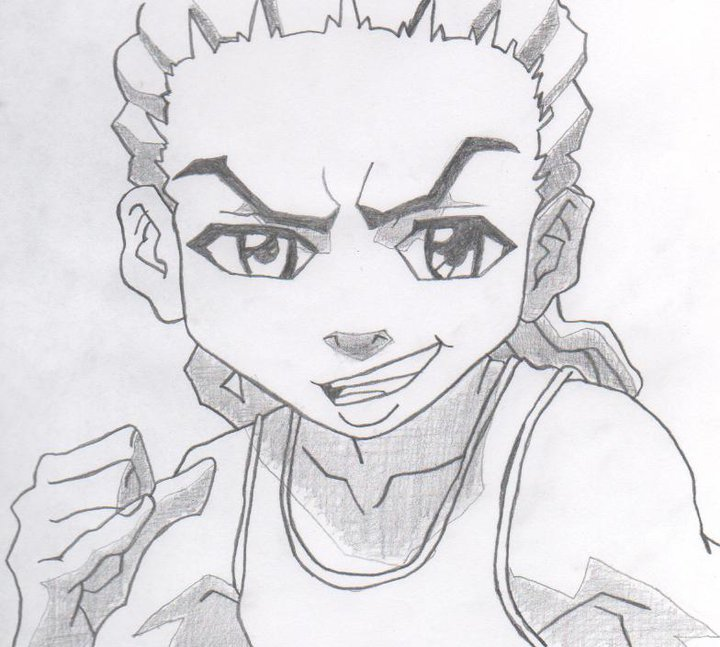 the boondocks riley coloring pages - photo#30