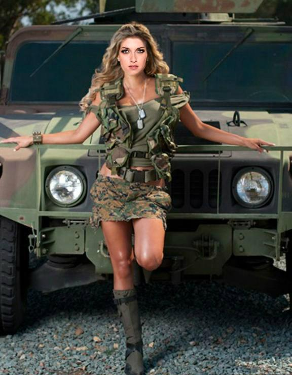 sexy army girl by freakybaby1 on deviantart