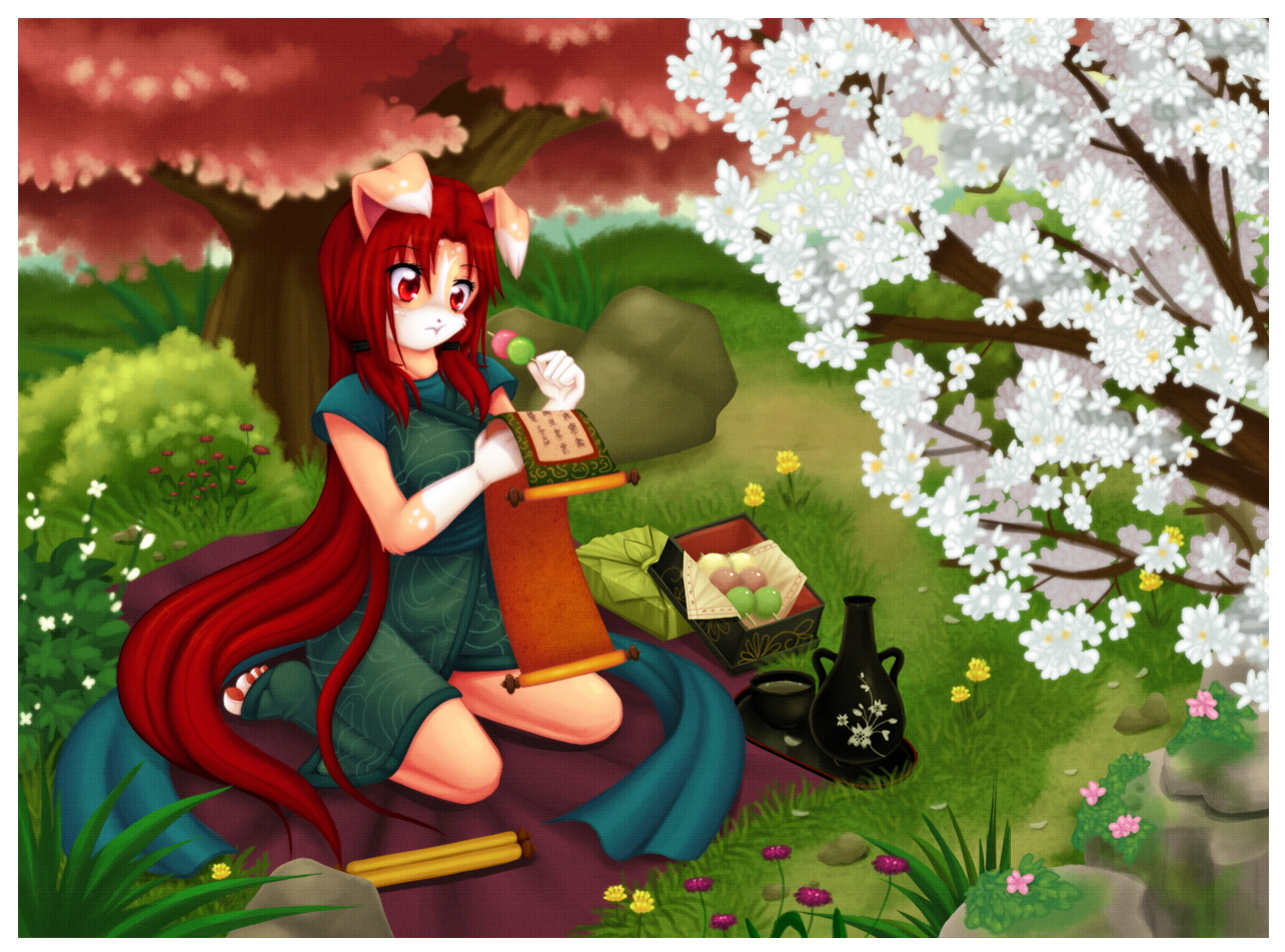.::Perfect Day for Reading::. by luna777
