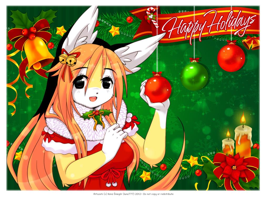 ::Happy Holidays 2012:: by luna777