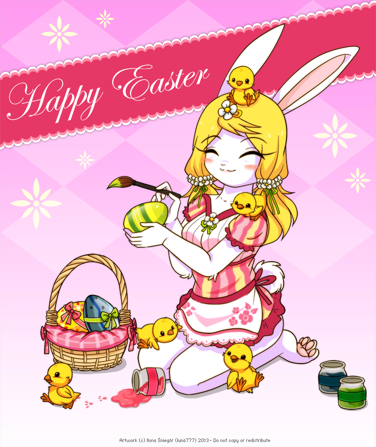 Happy Easter 2013 by luna777