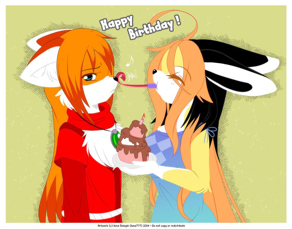 Birthday Surprise by luna777