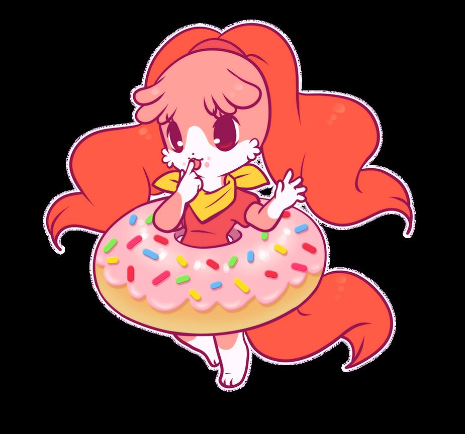 Yummy Puppy Donut by luna777