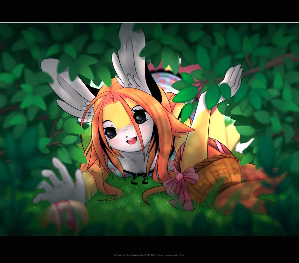 Easter Egg Hunt by luna777