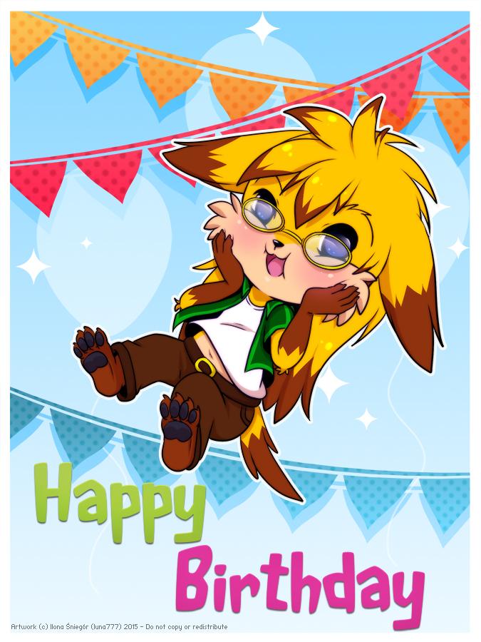 ::Birthday Boy:: by luna777