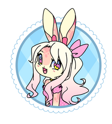 Lila button